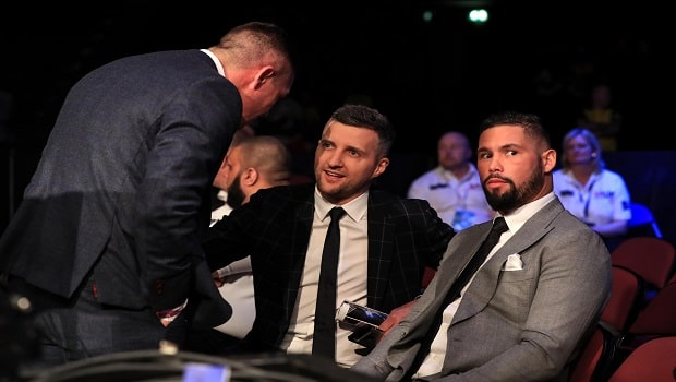 Carl Froch and Tony Bellew Boxing