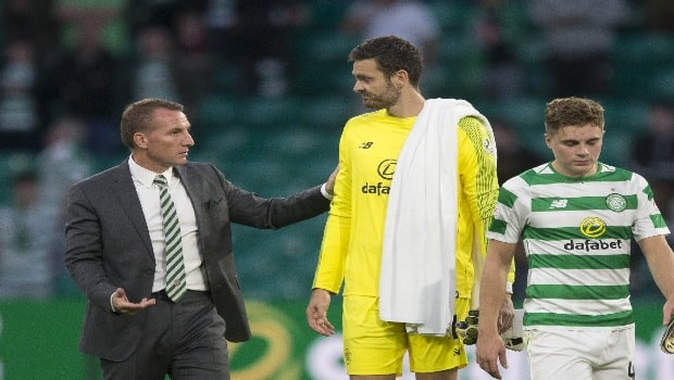 Craig Gordon Celtic Europa League