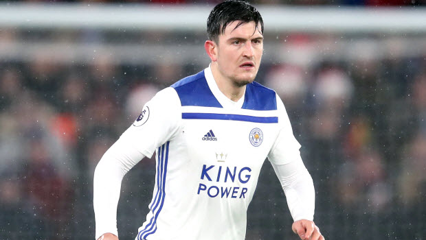Harry Maguire Leicester City Football