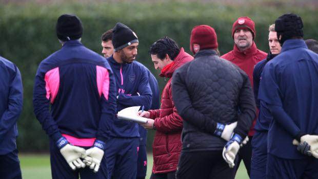 Unai Emery Arsenal Football