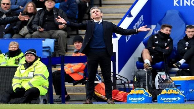 Claude Puel Leicester City Premier League