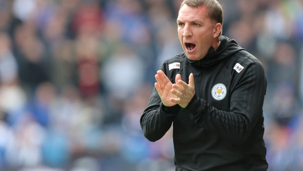 Brendan Rodgers Leicester City