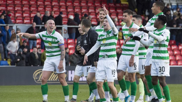 Celtic return with an impressive win - Celtic vs Ross County