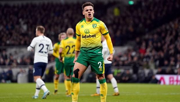 Norwich City Max Aarons -min