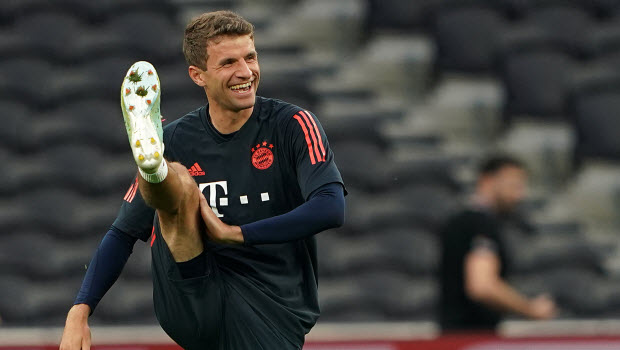 Thomas Muller - Bayern Munich - Thomas Muller lauds Bayern after the win against Hertha Berlin