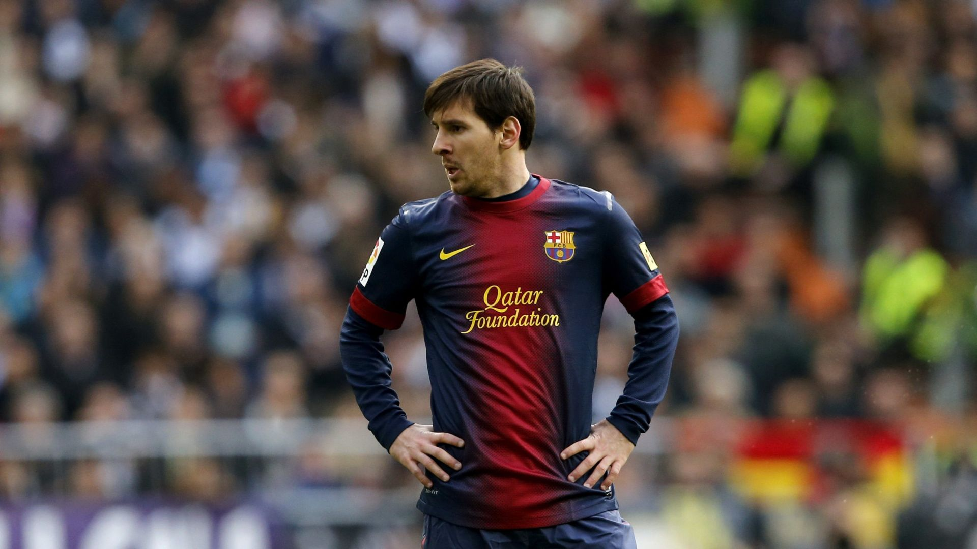 Messi never planned to move out of Barcelona Football Player Messi 2013