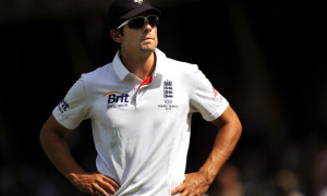 England captain Alastair Cook ODI