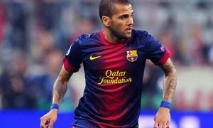 Dani Alves Barcelona defender