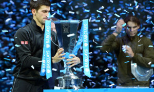 Novak Djokovic defeated Rafael Nadal ATP World Tour Finals