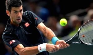 Novak Djokovic v Stanislas Wawrinka quarter-finals Paris Masters