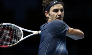 Roger Federer ATP World Tour Finals 2013