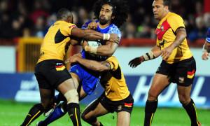 Samoa v Papua New Guinea Rugby League World Cup 2013