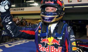 Sebastian Vettel Red Bull F1 team