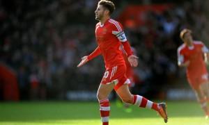 Adam Lallana Southampton captain