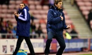 Andre Villas-Boas Tottenham manager