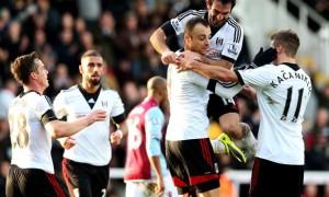 Fulham win over Aston Villa