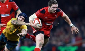 George North Wales Rugby union