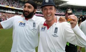 Graeme Swann and Monty Panesar england cricket