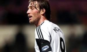 Michu Swansea striker