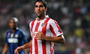 Atletico Madrid striker Raul Garcia