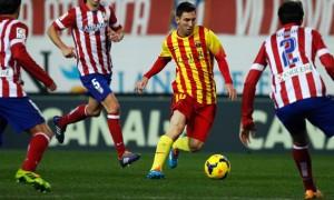Barcelona win over Atletico Madrid