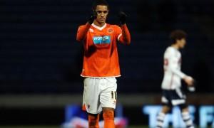 Blackpool winger Tom Ince