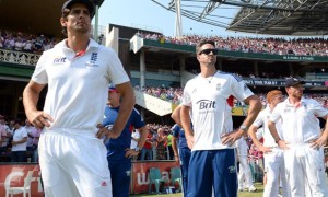England cricketers suffers against australian ashes