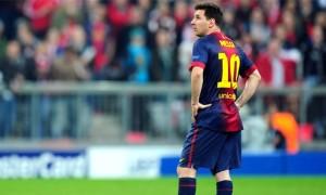 Lionel Messi Barcelona Star