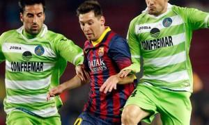 Lionel Messi Barcelona v Getafe