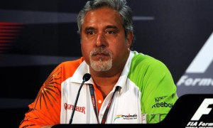 Vijay Mallya Force India team principal