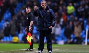 manager Manuel Pellegrini Man City