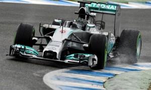 Nico Rosberg Mercedes driver