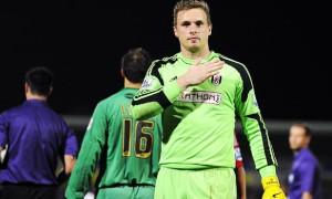 David Stockdale Fulham goalkeeper
