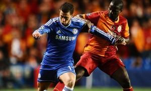 Eden Hazard Chelsea v Galatasaray