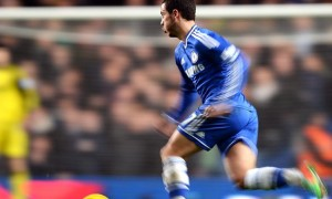 Eden Hazard Chelsea v arsenal