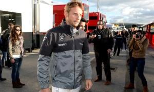 Jenson Button driver McLaren