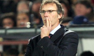Laurent Blanc Paris Saint-Germain coach