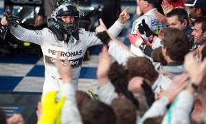 Nico Rosberg Mercedes Australian Grand Prix