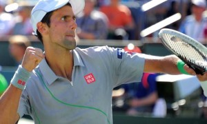 Novak Djokovic defeated Roger Federer in the Indian Wells ATP Masters final