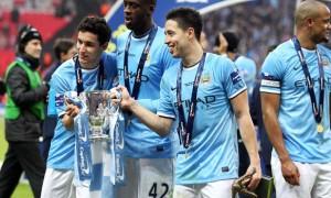 Samir Nasri Manchester City midfielder