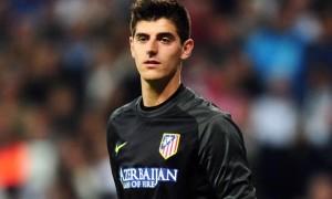 Thibaut Courtois Atletico Madrid goalkeeper