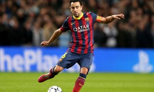xavi Barcelona player