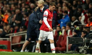 Arsene Wenger and Aaron Ramsey Arsenal Fa Cup