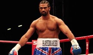 David Haye Former Boxing world champion
