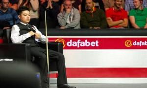Ding Junhui the Dafabet World Snooker Championship