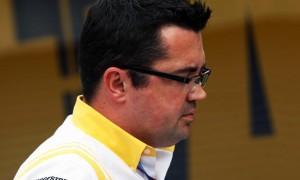 Eric Boullier McLaren racing director