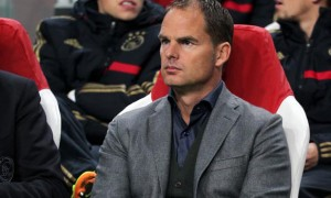 Frank de Boer Ajax manager