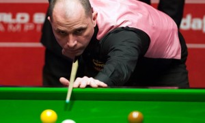 Joe Perry against Ronnie O Sullivan Dafabet World Snooker Championships