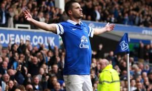Kevin Mirallas Everton groin injury