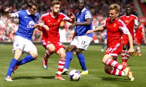 Luke Shaw and Adam Lallana Southampton stars